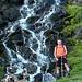 Una bella cascata sul sentiero Paltano -> S.Giacomo