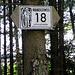 Weiter auf dem Wanderweg Nr. 18