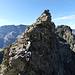 Einer von 100 Felstürmen, die wir heute überstiegen haben (vor dem Egghorn)
