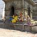 Sadhus, heilige Männer. Sie werden im Hinduismus sehr respektiert und verehrt.