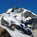 Der höchste Bündner, der Piz Bernina (4049 m).