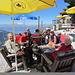 verdiente Pause im Hotel Weishorn (Foto von Urs)