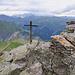 Gipfelaufbau Hochwart mit Blick Richtung Weisstannen