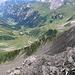 Der Grat von der Demmerahöhi zum Hinter Grauspitz im Profil