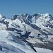 Castor, Pollux, Breithorn, Klein Matterhorn