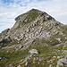 Heij Bärg, da Nord: un'innocua collina...