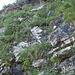 Le catene che aiutano (parecchio) per arrivare al Passo della Magna