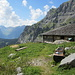 die Hütte bei P1843