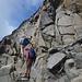 Das schönste Stück Aufstieg kommt dann hier kurz vor dem Gipfel. Aber keine Sorge es bleibt einfach.