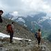 Nochmals ein kurzer Augenblick um die (sichtbaren) Bergwipfel zu bestaunen