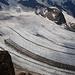 Tiefblick zum Pers Gletscher