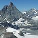 Das Matterhorn und Dent Blanche