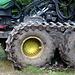 Die Räder des Harvester