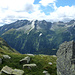 Blick auf die Tessiner Berge