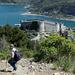 Abstieg zur Festung von Portovenere