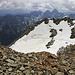 Simple Gletschertraverse, weder steil noch ausgesetzt