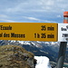 Gipfeltafel Gros Van 2189m