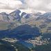 St. Moritz mit Piz Julier