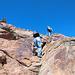 Emiliano in arrampicata