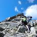 In arrampicata sulla cresta sse