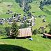 Blick zurück von Schwand: Oberrickenbach mit dem Haldibach