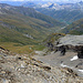 La Val Bergalga con in fondo Juppa (ed il nostro parcheggio)