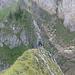 Erster Turm: Der schmale Gipfelgrat