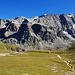Tolle Kulisse im Val d'Agnel