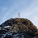 10 ottobre 2008 - Un po' di neve sulla cima - Foto d'archivio