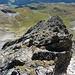 Blick zurück über den Grat