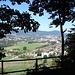 Blick nach Aarau auf dem Wanderweg