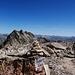 Skeptische Blicke am Gipfelvorbau