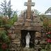 """hier an dieser Christusfigur (kein """"Marterl""""!) zweigt der Weg zum Leuchturm bei Rinrawros point ab."""