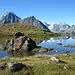 Schöner namenloser See auf 2502 m, oberhalb der Remointse du Tsaté
