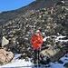 steile Schutthänge oberhalb der Fuorcla Buin
