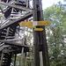 Ein schön gefertigter Holzturm