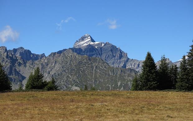 Tour Sallière, auch so ein geduldiger Berg...