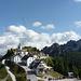 Monte Santo di Lussari, a destra la Cima del Cacciatore