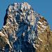 Gipfelpartie Matterhorn. In den nächsten Tagen zumindest im oberen Teil gute Verhältnisse in der Nordwand!