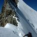 Nach dem Turm flacht der Grat ab und der einfache Aufstieg zur Wellenkuppe folgt