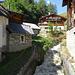 Der Bach fliesst mitten durch's Dorf Selkingen