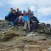 Gruppenbild auf dem Ochsenhorn