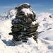 Der Steinmann des Il Chapütschin 3386m