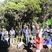 """Am letzten Tag singen dieTräger für uns: """"Kilimanaro, Kilimanjaro, ...""""."""