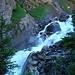 Eindrucksvolle Wasserfälle in der Chluse
