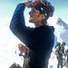 Roller sollte wirklich als Model für Bergsteigerkataloge arbeiten (Foto courtesy Betti).