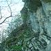 der vermeintliche Einstieg zum Sentiero delle Guardie...richtig ist er offenbar etwas weiter unten