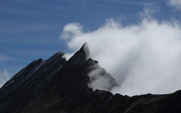 Mont Ferret - Bin nicht sicher, welches da der höchste Punkt ist.