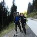 Giulio ed Io :  Inizio escursione.