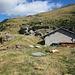 nördlich der Hütte die Flanke, die zum Grat Piz Martum - Piz Molinera - Passo di Mem - Pizzo di Claro hinaufführt